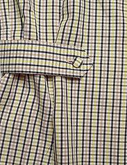 Gestuz - ElionaGZ blouse MS20 - short-sleeved blouses - lime light check - 5