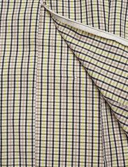 Gestuz - ElionaGZ blouse MS20 - short-sleeved blouses - lime light check - 6