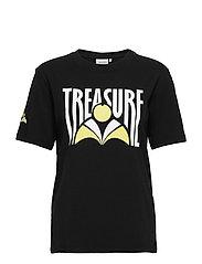 TreasureGZ tee MS20 - BLACK