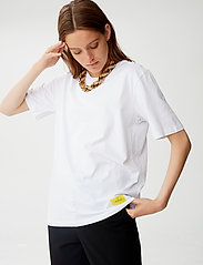 Gestuz - LivGZ tee NOOS - t-shirts - bright white - 0