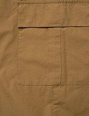 Gestuz - BaliaGZ shorts MS20 - bukser med brede ben - khaki - 4