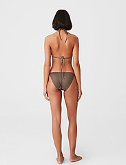 Gestuz - PilGZ bikini top - bikini overdele - brown logo - 3
