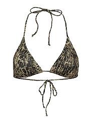 PilGZ bikini top - YELLOW LEO