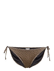 PilGZ bikini bottom - BROWN LOGO