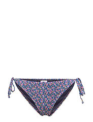 PilGZ bikini bottom - SMALL FLOWER BLACK