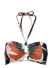 ArtyGZ bikini top - PINK MULTI ART
