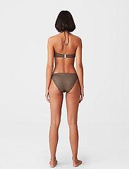 Gestuz - CanaGZ bikini top - bikini overdele - brown logo - 5