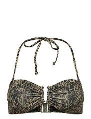 CanaGZ bikini top - YELLOW LEO