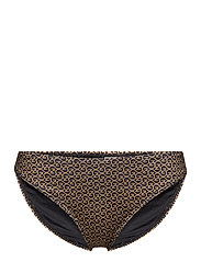 CanaGZ bikini bottom - BROWN LOGO