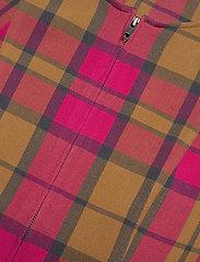 Gestuz - CivaGZ dress AO20 - stramme kjoler - pink/yellow check - 2