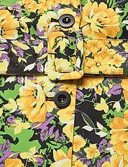 Gestuz - FleurGZ blazer AO20 - blazere - yellow flower garden - 4