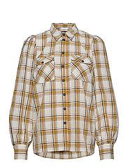 ChloeGZ ls shirt AO20 - YELLOW CHECK