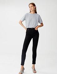 Gestuz - EmilyGZ HW skinny jeans black - skinny jeans - black - 0