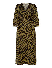 NadjaGZ wrap dress BZ - ARMY ANIMAL