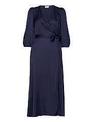 NadjaGZ wrap dress BZ - PEACOAT