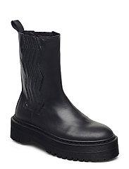 MarleeGZ chunky boots - DARK NAVY