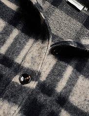 Gestuz - RinaGZ shirt MA20 - wool jackets - salt/peber check - 3