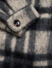 Gestuz - RinaGZ shirt MA20 - wool jackets - salt/peber check - 4