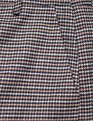Gestuz - VivGZ long shorts MA20 - bukser med brede ben - brown check - 3