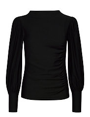 RifaGZ puff blouse - BLACK