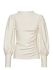 RifaGZ puff blouse - EGRET