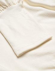 Gestuz - RifaGZ puff blouse - langærmede bluser - egret - 3