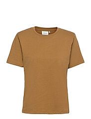 JoryGZ tee - BONE BROWN