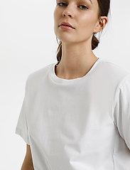 Gestuz - JoryGZ tee - t-shirts - bright white - 5