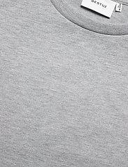 Gestuz - JoryGZ tee - t-shirts - grey melange - 6