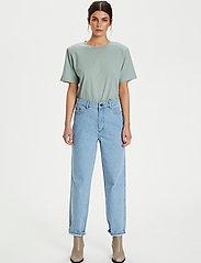 Gestuz - JoryGZ tee - t-shirts - slate gray - 4