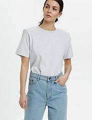 Gestuz - JoryGZ tee - t-shirts - xenon blue - 0