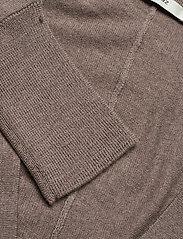 Gestuz - ThelmaGZ duo knit SO21 - cardigans - dark sand melange - 5