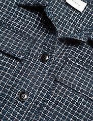 Gestuz - CleaGZ jacket SO21 - wool jackets - navy/white check - 3