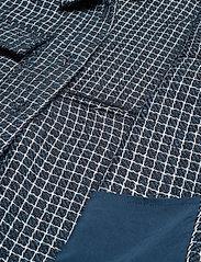 Gestuz - CleaGZ jacket SO21 - wool jackets - navy/white check - 4