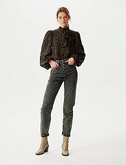 Gestuz - AleahGZ HW jeans SO21 - slim jeans - storm grey - 0