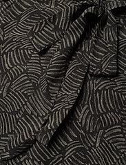 Gestuz - TikaGZ midi dress SO21 - midi kjoler - brown strokes - 3