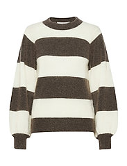 DebbieGZ striped pullover - EARTH