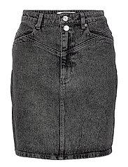 AleahGZ mini skirt SO21 - STORM GREY
