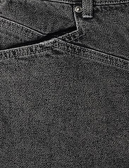 Gestuz - AleahGZ mini skirt SO21 - denimnederdele - storm grey - 3