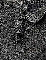 Gestuz - AleahGZ mini skirt SO21 - denimnederdele - storm grey - 4