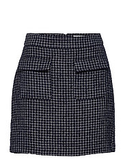 CleaGZ skirt SO21 - NAVY/WHITE CHECK