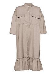 ViraGZ OZ dress SO21 - WALNUT