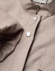 Gestuz - ViraGZ OZ dress SO21 - skjortekjoler - walnut - 3