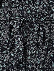 Gestuz - LoraliGZ V-neck dress SO21 - midi kjoler - aqua flower - 7