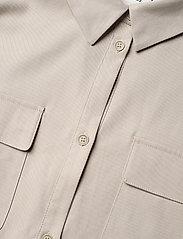 Gestuz - DosiaGZ OZ shirt dress SO21 - skjortekjoler - pure cashmere - 5