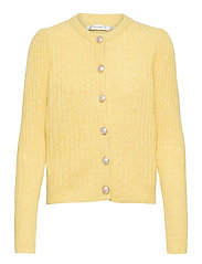 AlpiaGZ puff cardigan - DRIED MOSS MELANGE