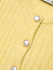 Gestuz - AlpiaGZ puff cardigan - cardigans - dried moss melange - 3