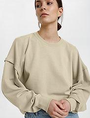 Gestuz - ChrisdaGZ sweatshirt - sweatshirts - pure cashmere - 5