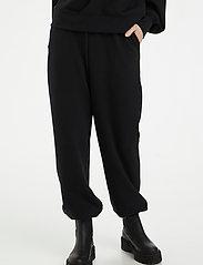 Gestuz - ChrisdaGZ HW pants - tøj - black - 0