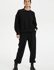 Gestuz - ChrisdaGZ HW pants - tøj - black - 3